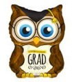 Owl Grad Shape Balloon