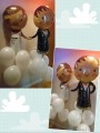 Bride and Groom Wedding Balloon Package A