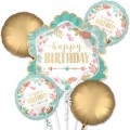 BOHO BIRTHDAY GIRL BOUQUET OF BALLOONS