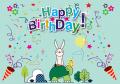 Birthday Banner 13 (可加印名字)