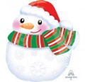Bundled Up Snowman