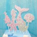 Ocean mermaid cake decorations
