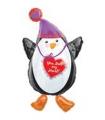 You Melt My Heart Penguin Shape