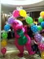 Barney Costume 班尼人型公仔