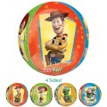 Toy Story Characters Orbz Balloon