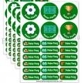 Name Labels 標籤貼紙- Football 足球