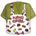 Dad's BBQ Shirt- King of the Grill