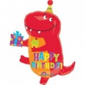 Birthday-Saurus Red Dinosaur