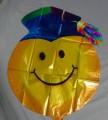 Graduation emoji with blue cap
