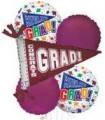 Graduation Maroon Bouquet With Weight