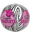 Congrats Graduate Zebra Sphere
