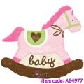 Baby Pink Rocking Horse