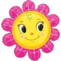 Smiley Pink Flower