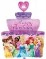 Disney Princess Happy Birthday Cake