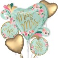 MINT TO BE BOUQUET OF BALLOONS