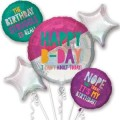 YOUNG & FABULOUS BIRTHDAY BOUQUET OF BALLOONS