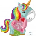 Rainbow Unicorn Love You