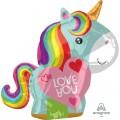 Rainbow Unicorn Love You