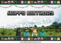 Minecraft Birthday Banner 2 (可加印名字)