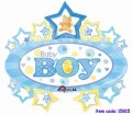 Baby Boy Marquee Super Shape
