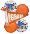 Graduation Orange Bouquet With Weight