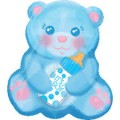 Baby Boy Bear with Bottle